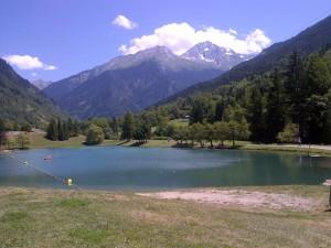 het meer le praz